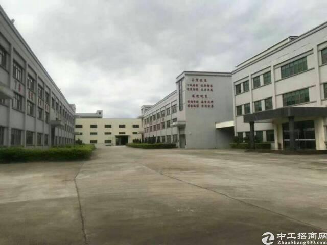 清溪镇三中新出标准厂房2栋,一栋5200㎡,7500平方