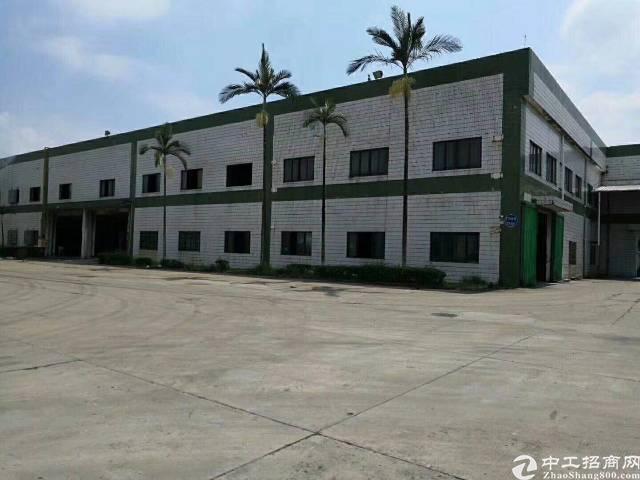 龙岗区新出独门独院5200平米单一层7米高4000平米可分租