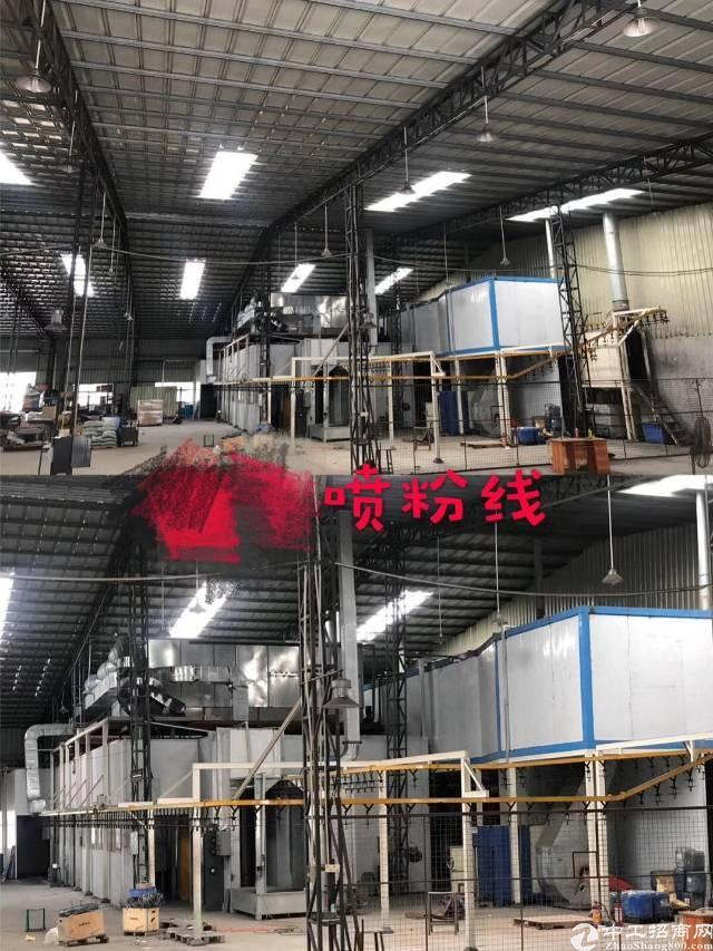 清溪新出单一层钢构厂房带环评