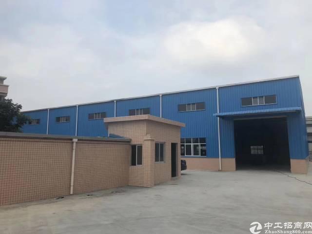 东莞清溪新出单一层9米钢构3千平厂房出租