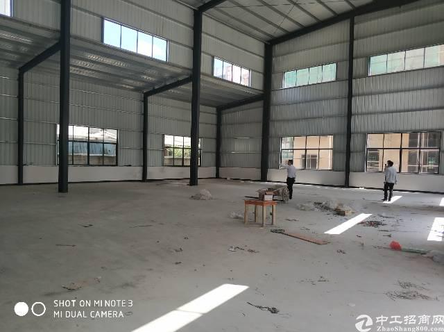 大朗镇高速出口2公里处新出钢结构厂房约1000