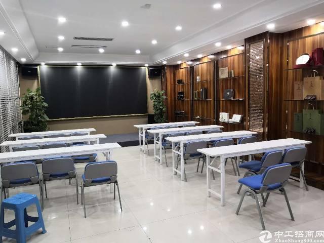 龙城地铁站附近新出写字楼500平精装修带家私