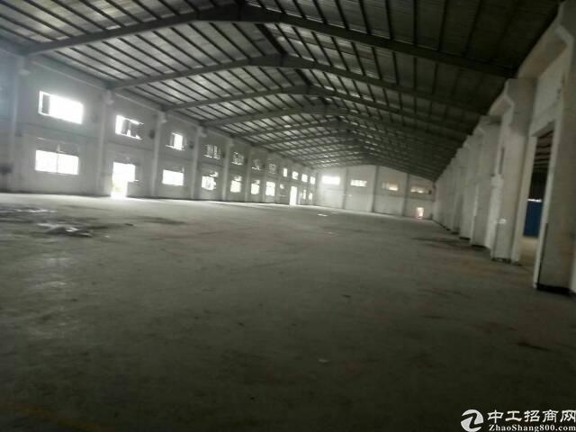 大岭山独院钢构出租1500平租23,可做仓库和设备加工,