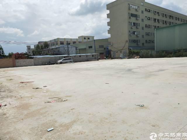 原房东全新单一层钢构厂房