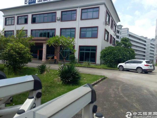 观澜新田楼上500平方厂房,园区形象好,红本厂房,有装修