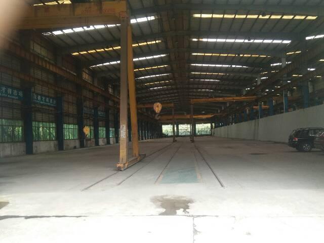 新出厂房车间和办公楼总面积6800