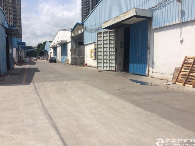 观澜章阁原房东钢构厂房,1500平方起租,可以做废品打包