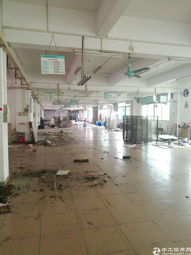 寮步镇8000㎡原房东独门独院标准厂房出租