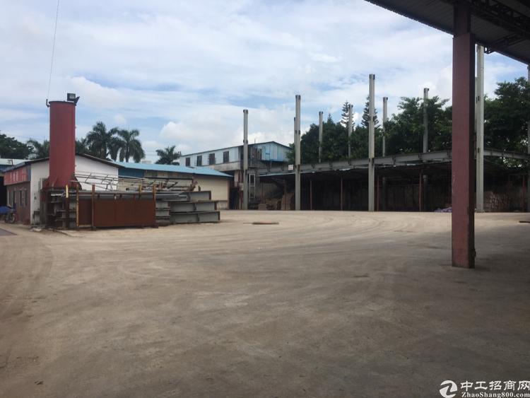 观澜牛湖市场边18000平米独院刚构做仓库物流