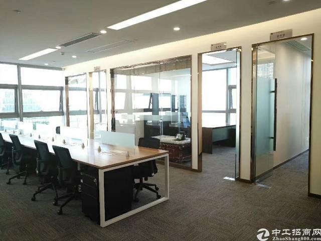地铁口带全新家具拎包办公甲级公司总部优选址