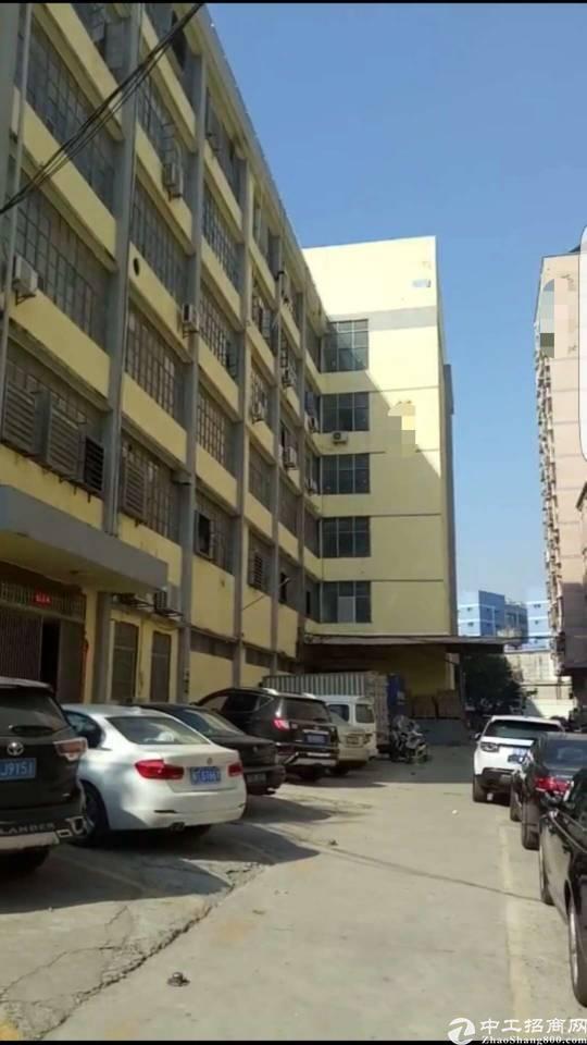 西乡固戍107国道旁楼上1050平方厂房出租