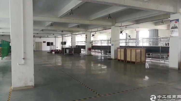 龙华新区观澜,原房东标准厂房出租,带红本,实际面积出租。