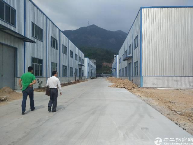 秋长白石洞5000平全新钢构厂房出租,可做污染行业