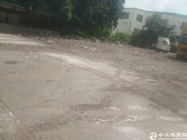 龙华清湖龙观路路边上空地4500平方招租