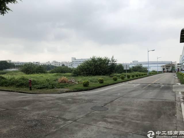 福永和10000平方工业用地空地可硬化