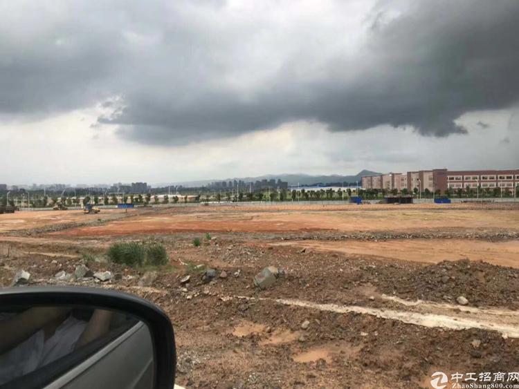 沙井新出空地两万平。会展中心旁 可报建国有土地红本