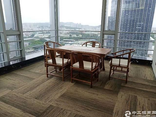 深圳华南城金融中心精装写字楼出租大小