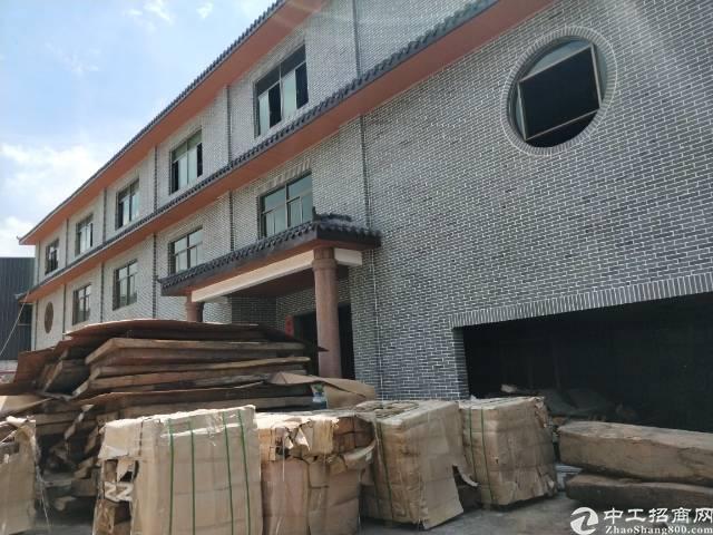 企石镇独院单一层钢构厂房3800平方滴水8米