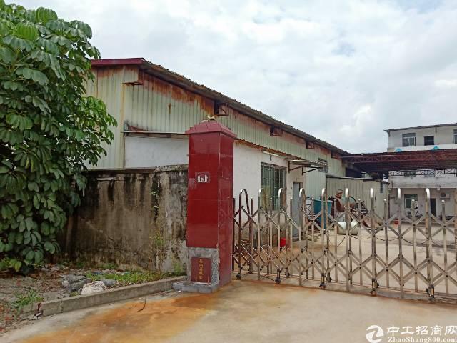 茶山镇卢边村1500平米单一层独院厂房出租