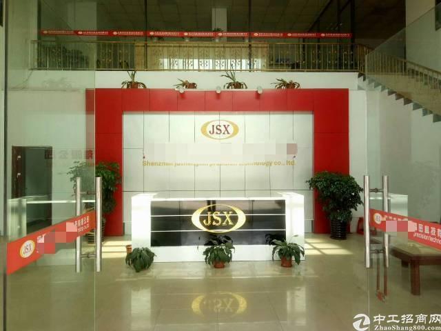 松岗松福大道边一楼6米高整层3700平米带装修-图3