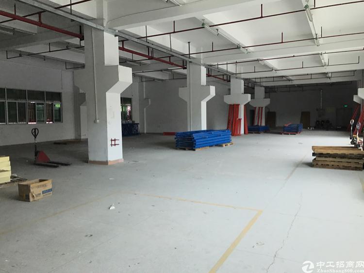 平湖一楼带消防喷淋原房东1150平米招租