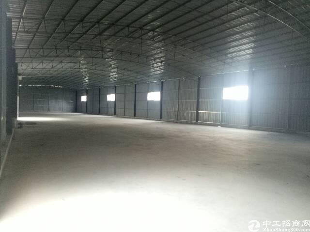 虎门镇高速路口全新独院厂房三层3000平方宿舍1200平方