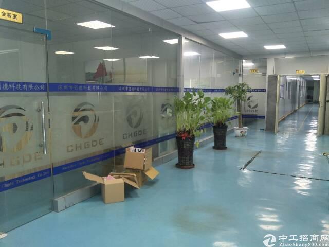 原房东出租电子厂1350平带装修(免转让费)