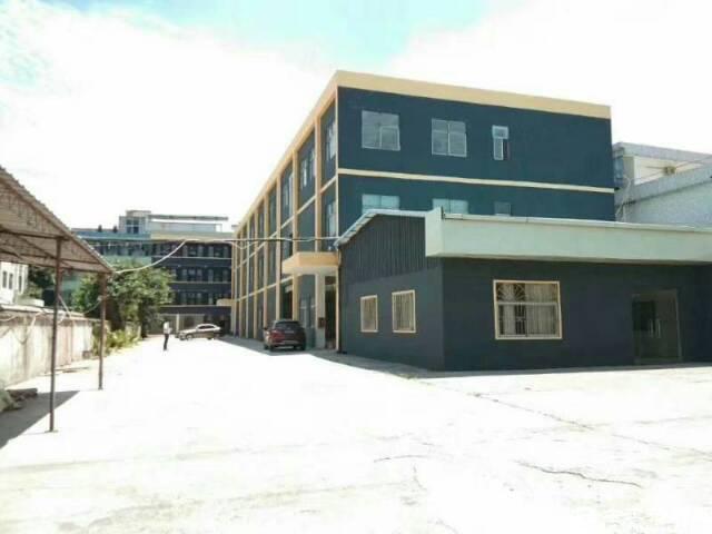 松岗镇中心地铁总站旁独院厂房3900平