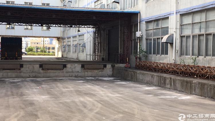 龙华大快线边上一楼带双卸货平台适合做仓库5000平标准厂房出