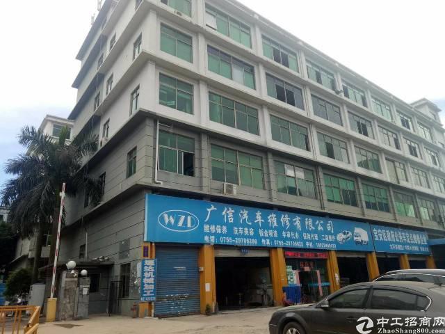 西乡黄田107国道附近新出独栋厂房8250平米出租