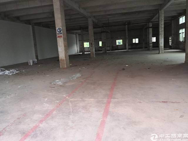 横岗六约工业园一楼1000厂房招租