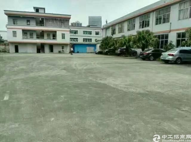 松岗国道附近原房东两层独院2500平方出租