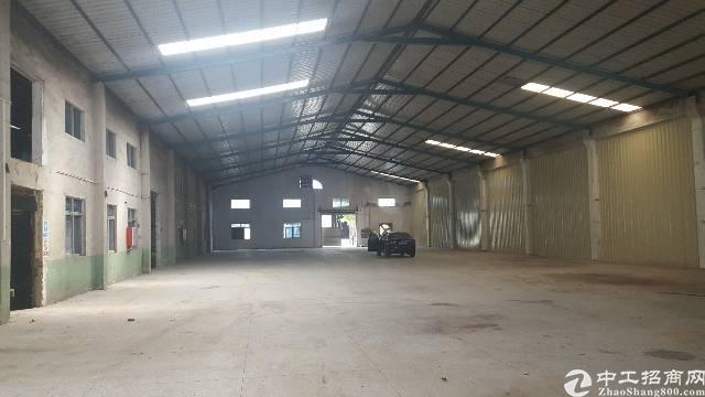 惠阳新圩博深高速出口钢构厂房2500平方