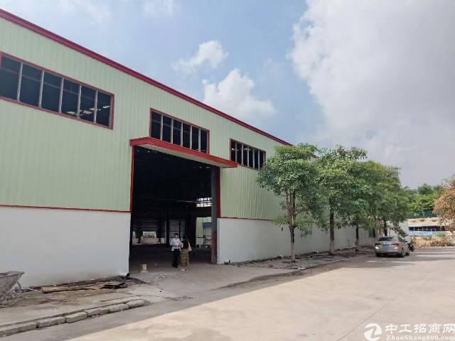 高埗镇钢构滴水7米 5600平方单一层厂房