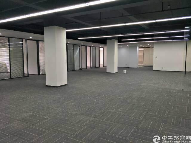 西丽留仙大道旁带精装修写字楼出租面积自由组合200至5800图片6
