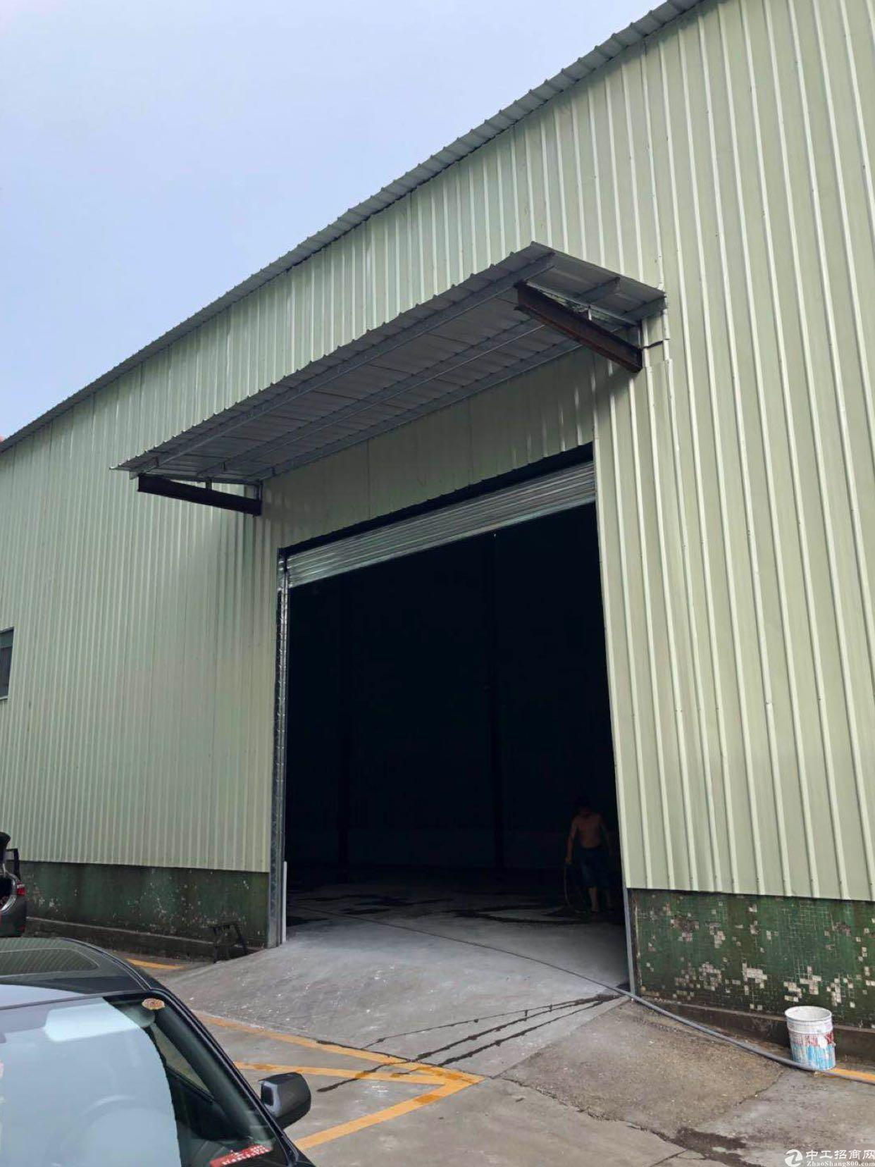 布吉平吉大道上李朗工业园全新钢构1280平方,10米高