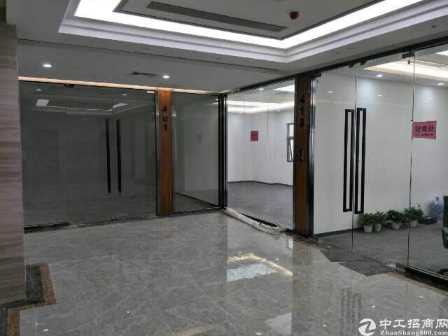 西丽留仙大道旁带精装修写字楼出租面积自由组合200至5800图片8