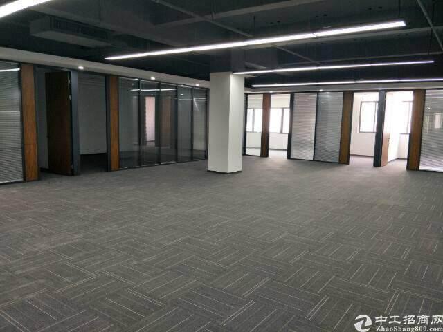 西丽留仙大道旁带精装修写字楼出租面积自由组合200至5800图片4