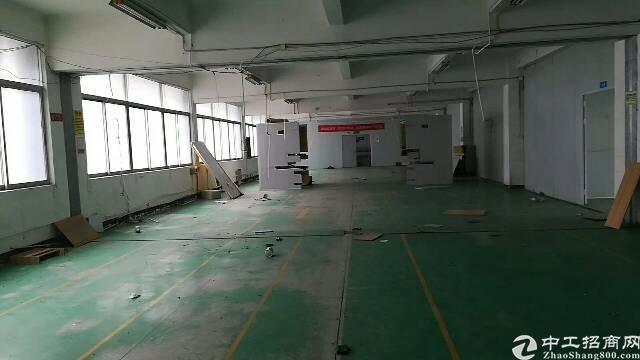 布吉上李朗工业区新出750平标准厂房出租