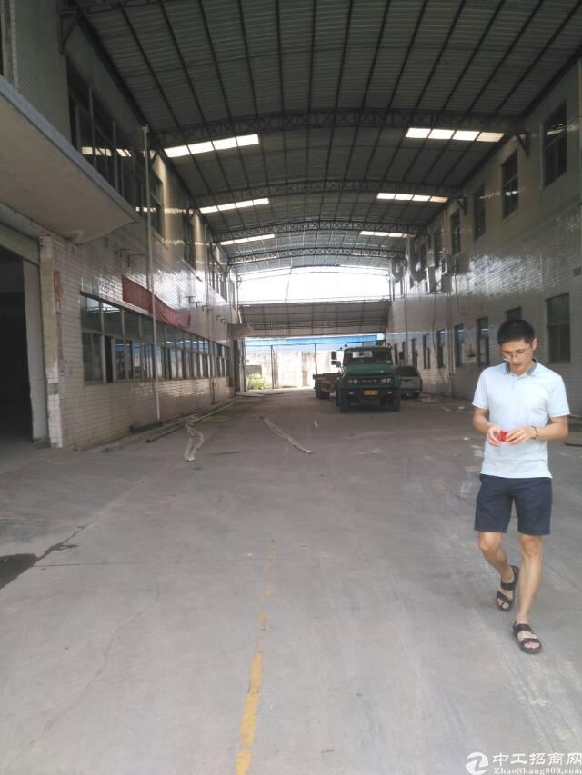 深圳公明标准钢构厂房2000平方大小出租