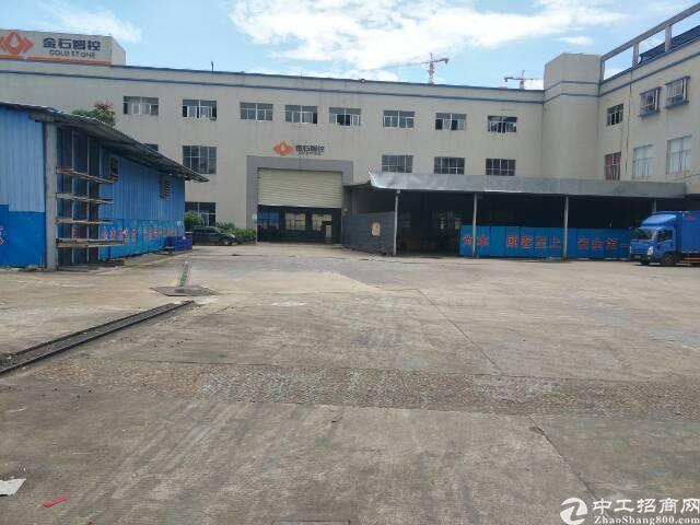 坪山主干道标准一楼厂房8米高500平方出租