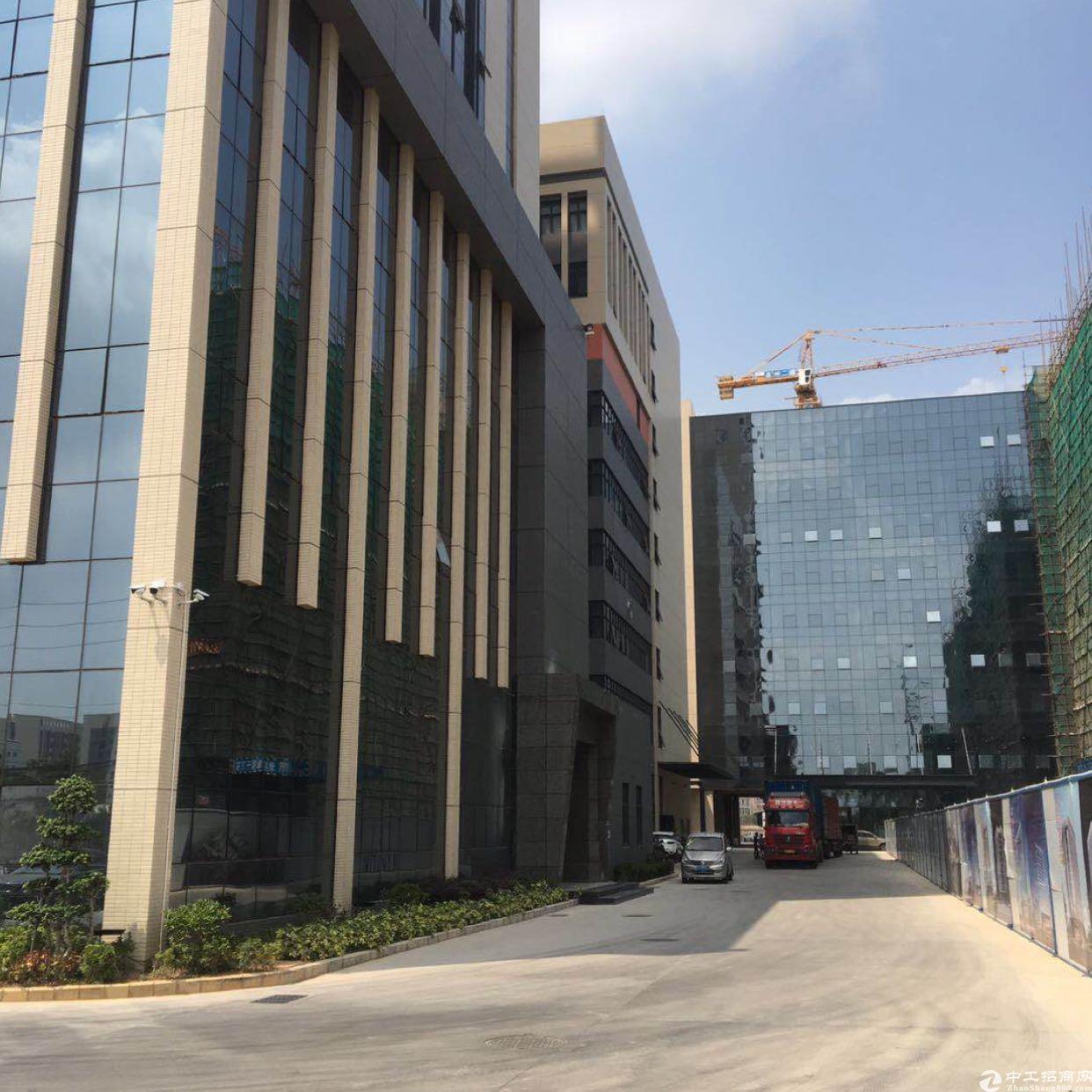 惠阳秋长全新工业园标准厂房单层2100平方出租
