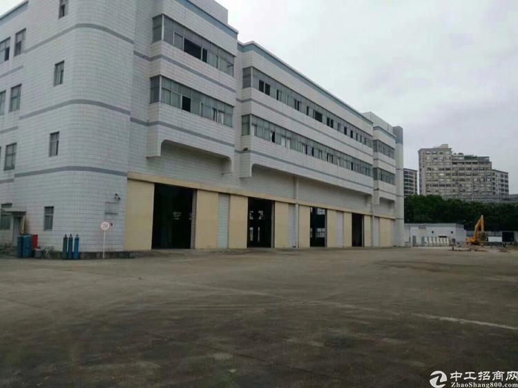 福永地铁口新出独栋厂房。