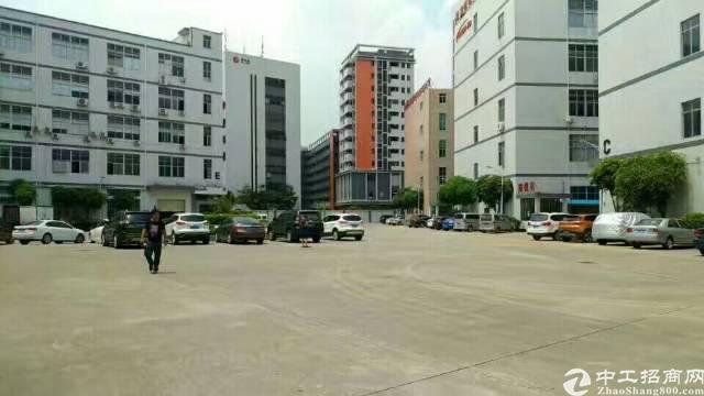 松岗宝安大道旁新出楼上1290平方带装修厂房