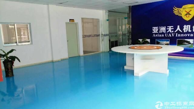 松岗燕川1楼1500平方带办公室装修