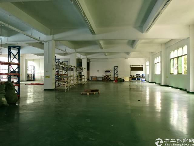 公明西田整层带装修1200平米厂房出租
