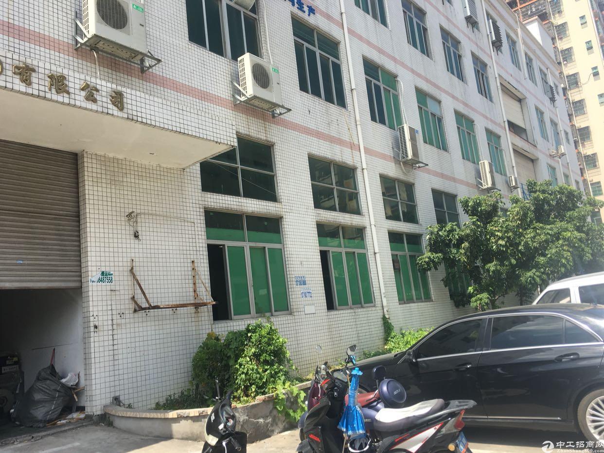 沙井西部工业园楼上整层厂房2000平出租
