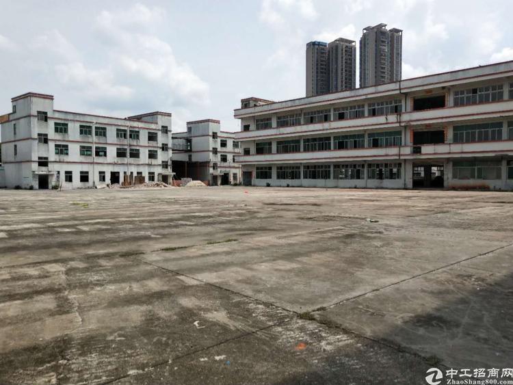 龙华周边独门独院空地大厂房招租