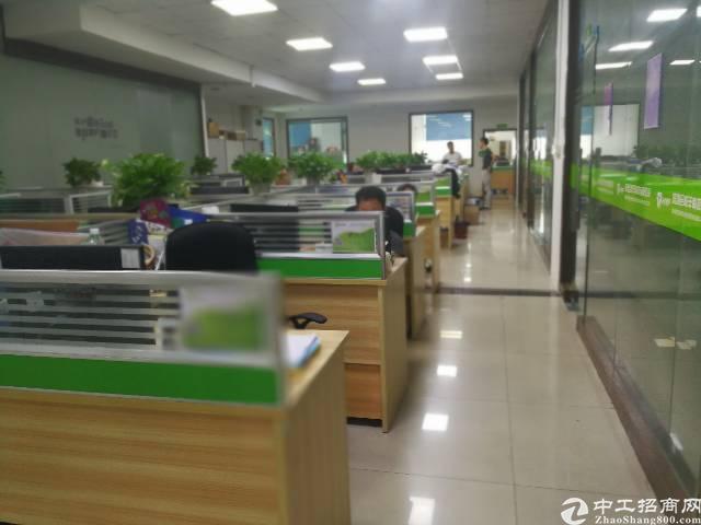 福永塘尾楼上带装修1300平米厂房出租