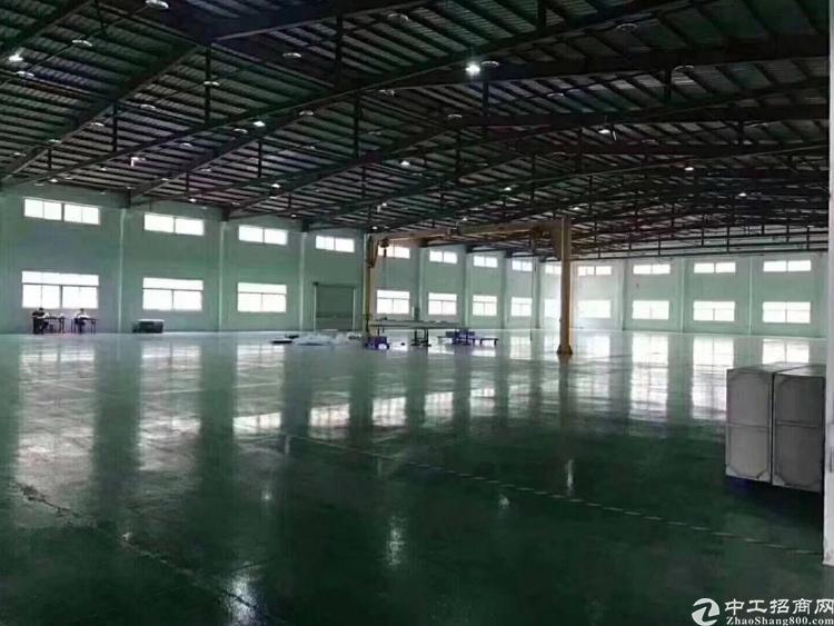 宝安松岗龙大高速出口原房东独院单一层钢构厂房16000平米